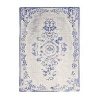 By-Boo Vloerkleed 'Oase' 200 x 290cm, kleur blue