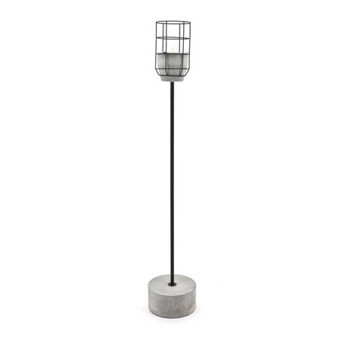 By-Boo Vloerlamp 'Condor' beton
