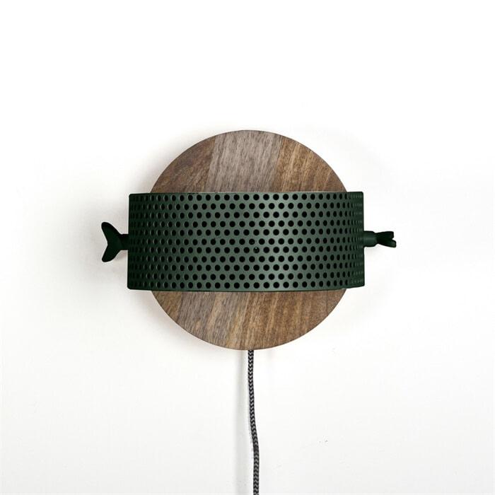 By-Boo Wandlamp 'La Forge' kleur groen Verlichting | Wandlampen vergelijken doe je het voordeligst hier bij Meubelpartner