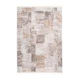 Kayoom Vloerkleed 'Akropolis 425' kleur Grijs / Zilver, 200 x 300cm