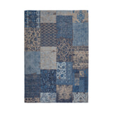 Kayoom Vloerkleed 'Symphony 160' kleur Blauw, 160 x 230cm