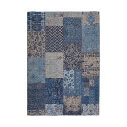 Kayoom Vloerkleed 'Symphony 160' kleur Blauw