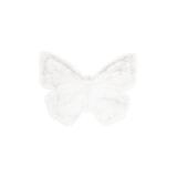 Kayoom Vloerkleed 'Vlinder' kleur Wit, 70 x 90cm