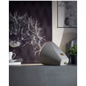 Kave Home Tafellamp 'Alcara', kleur Lichtgrijs