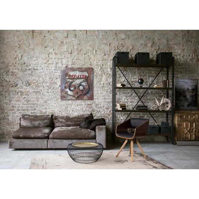 Kayoom Vloerkleed 'Nostalgia 285' kleur Grijs / Antraciet