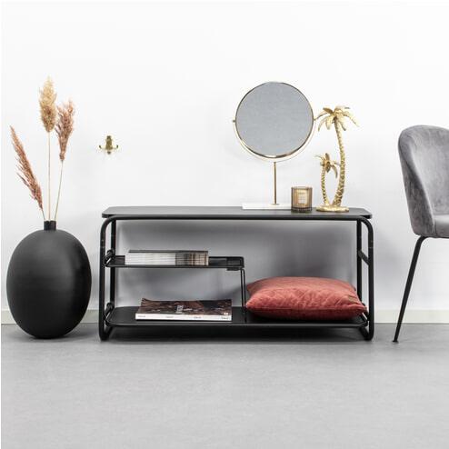 Kave Home TV-meubel 'Academy', kleur Zwart