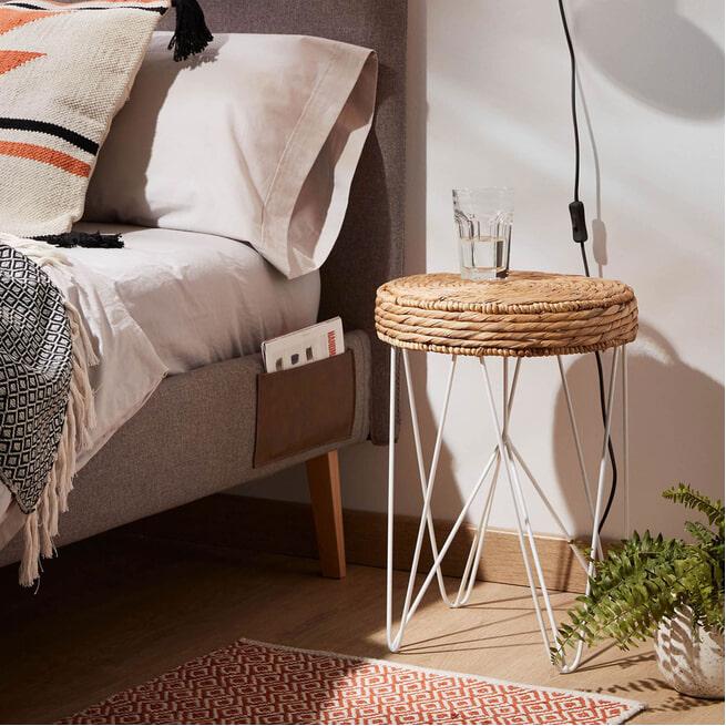 Kave Home Bijzettafel 'Golda' kleur Naturel