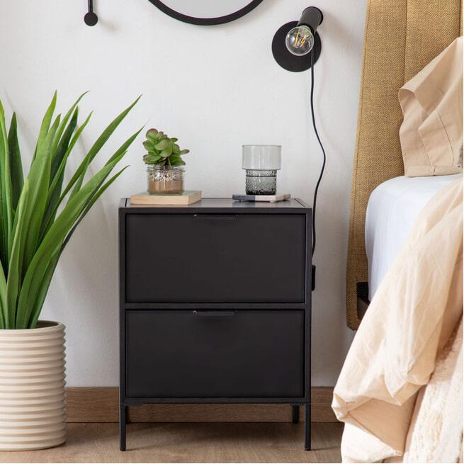 Kave Home Nachtkastje 'Shantay' 50 x 40cm