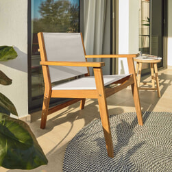 Kave Home Tuin fauteuil 'Hilda'