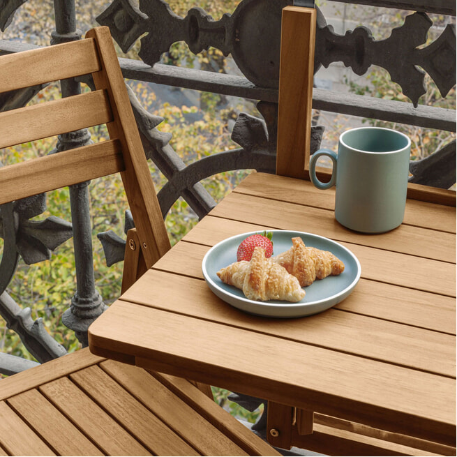 Kave Home Inklapbare Balkontafel 'Amarilis'