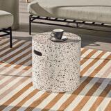 Kave Home Bijzettafel 'Jenell' 35cm, kleur Wit