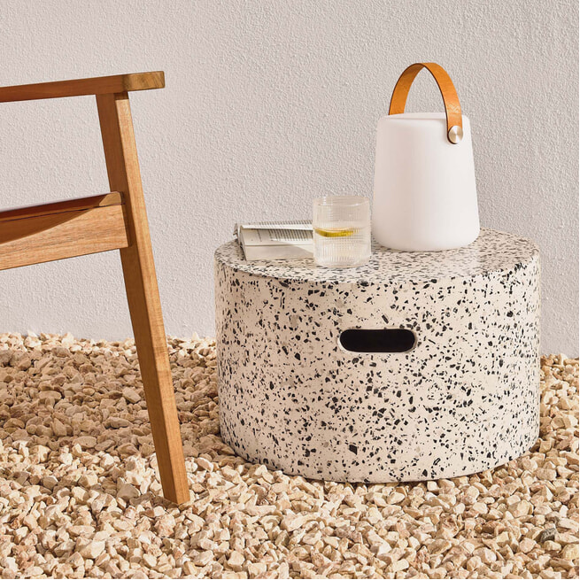 Kave Home Salontafel 'Jenell' 52cm, kleur Wit