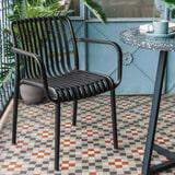 Kave Home Tuinstoel 'Isabellini', kleur Zwart