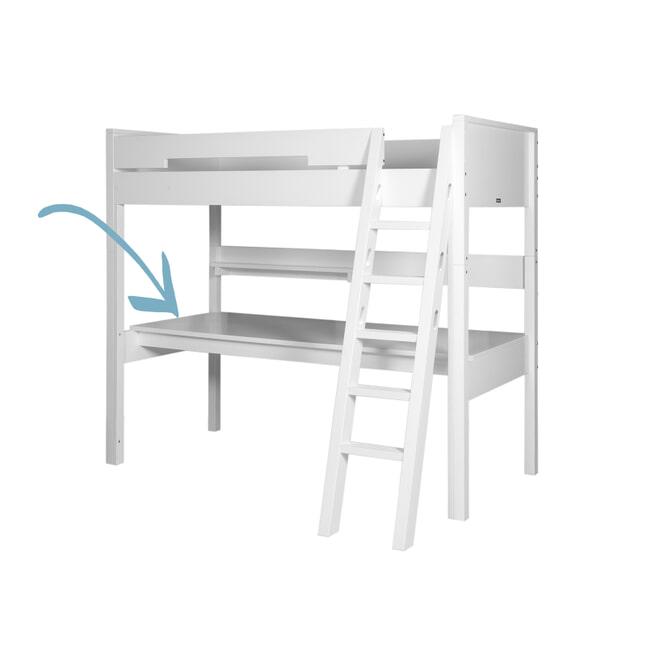 Bopita Bureaublad voor hoogslaper XL 'Combiflex' kleur wit