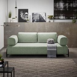 Kave Home 3-zits Bank 'Compo', kleur Groen