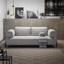 Kave Home 3-zits Bank 'Compo', kleur Lichtgrijs