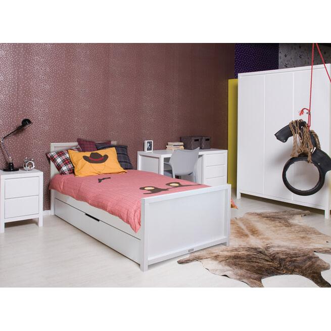 Bopita Bed 'Corsica' 90 x 200cm, kleur wit