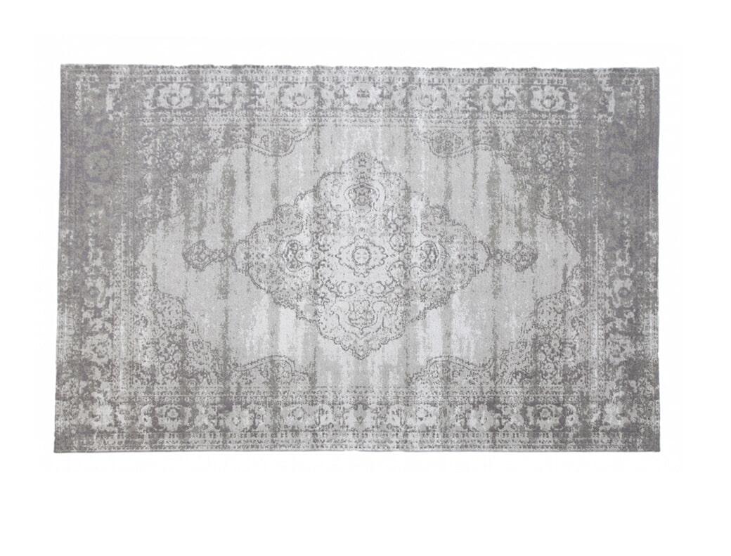 Brix Vloerkleed 'Kelly' 200x290 cm, kleur Charcoal grey