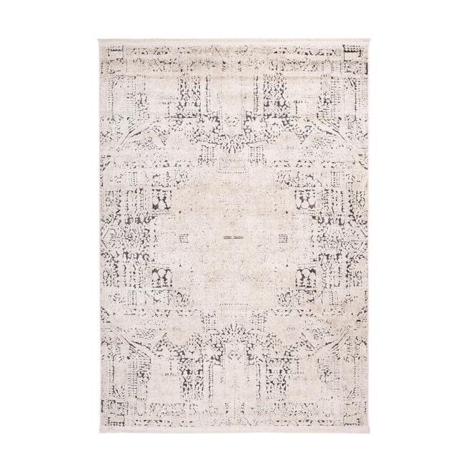 Kayoom Vloerkleed 'Palace 400' kleur multicolor / antraciet, 80 x 150cm