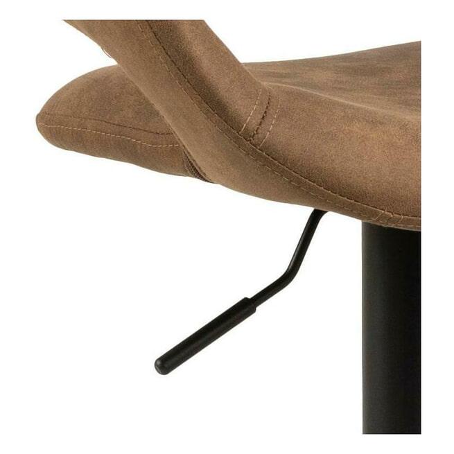 Bendt Barkruk 'Pia' (zithoogte 59-80cm), kleur Bruin
