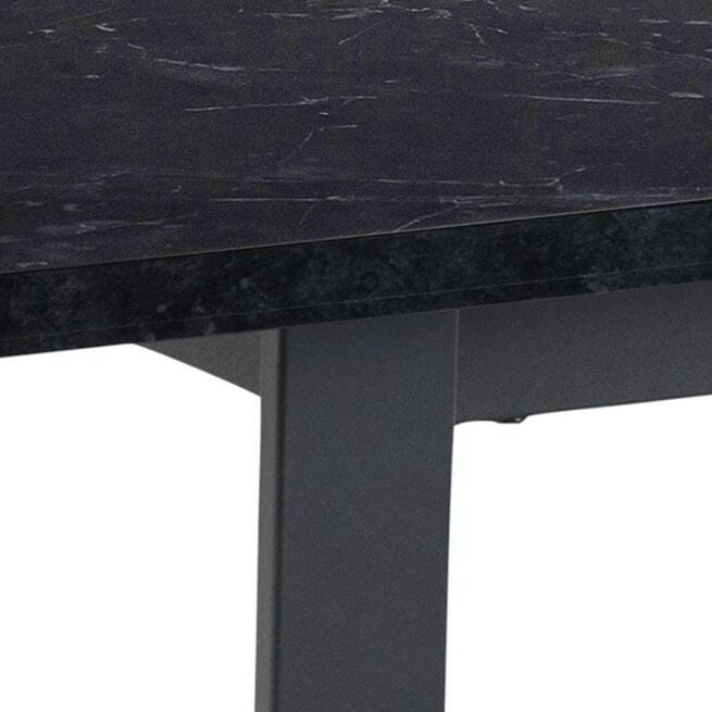 Bendt Eettafel 'Per' 160 x 90cm, Marmerlook