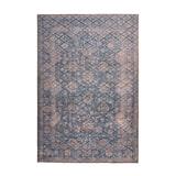 Kayoom Vloerkleed 'Antique 225' kleur Blauw / Goud, 160 x 230cm
