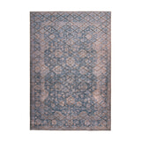 Kayoom Vloerkleed 'Antique 225' kleur Blauw / Goud, 80 x 150cm