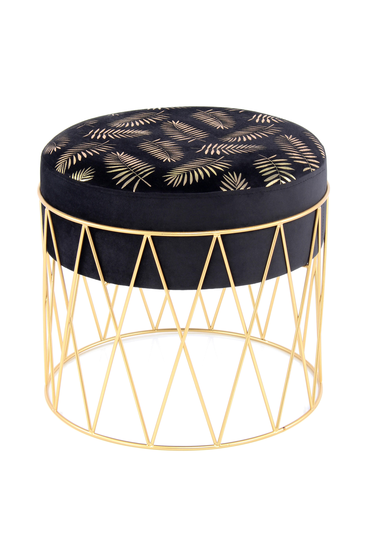 Kayoom Krukje 'Cleopatra' 40cm, kleur goud / zwart