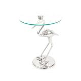 Kayoom Bijzettafel 'Bird' kleur zilver, 40cm