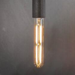 Kooldraadlamp 'Buis' E27 LED 4W goldline 18,5cm, dimbaar