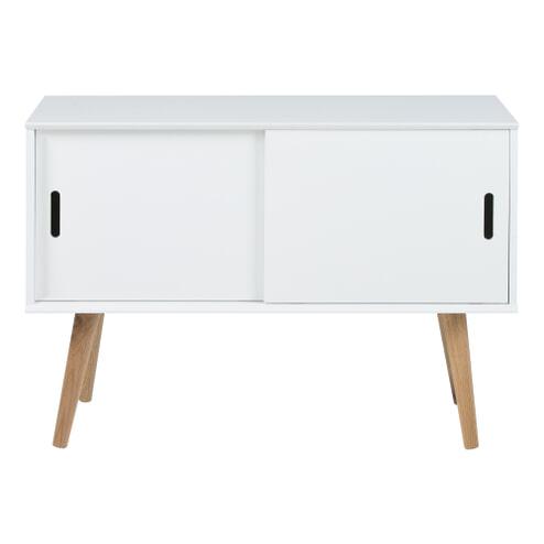 Bendt Dressoir 'Isaac' 100cm, kleur wit