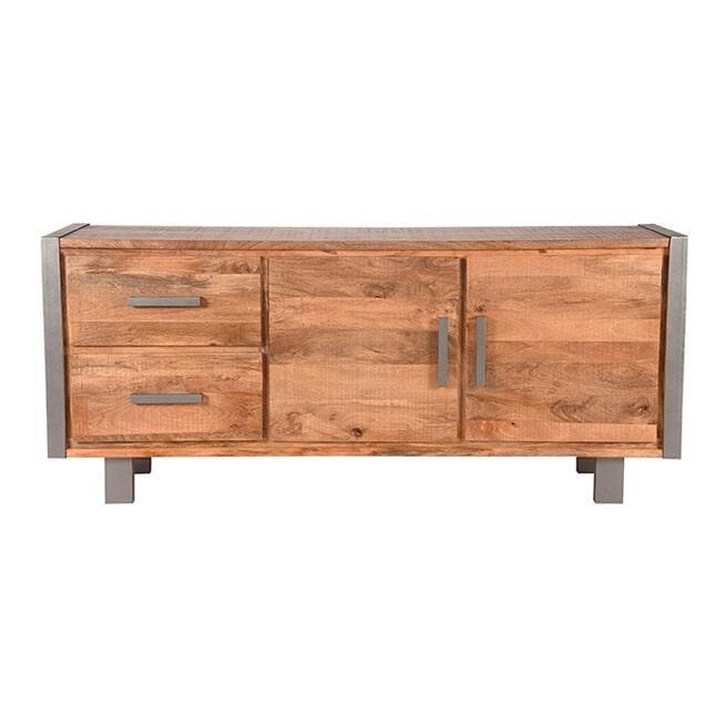 LABEL51 Dressoir 'Factory', Mangohout, 180 x 78 x45cm