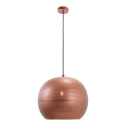 Urban Interiors hanglamp 'Spike Bol XL' Ø40cm, kleur Koper