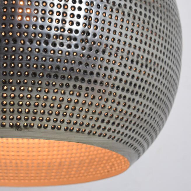 Urban Interiors hanglamp 'Spike Bol XL Zink' Ø40cm