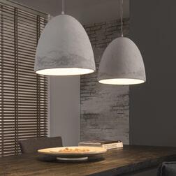 Dubbele Hanglamp 'Ace' beton