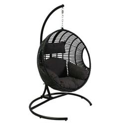 SenS-Line Hangstoel 'Dusty' kleur zwart