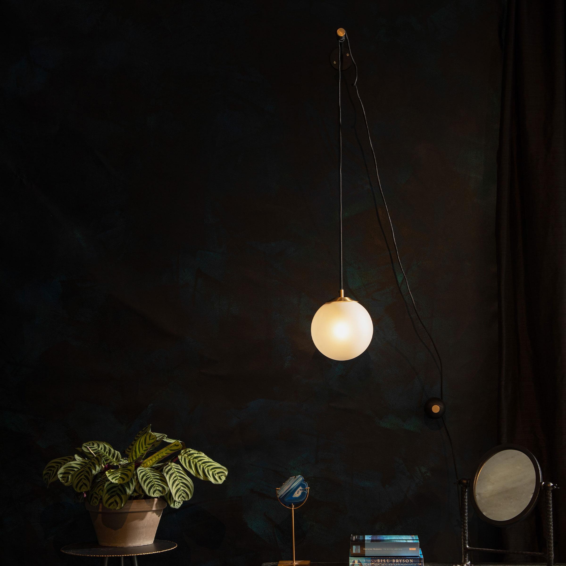 Dutchbone Wandlamp 'Bulan' 76cm