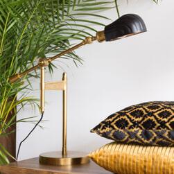 Dutchbone Tafellamp 'Lily' 46cm