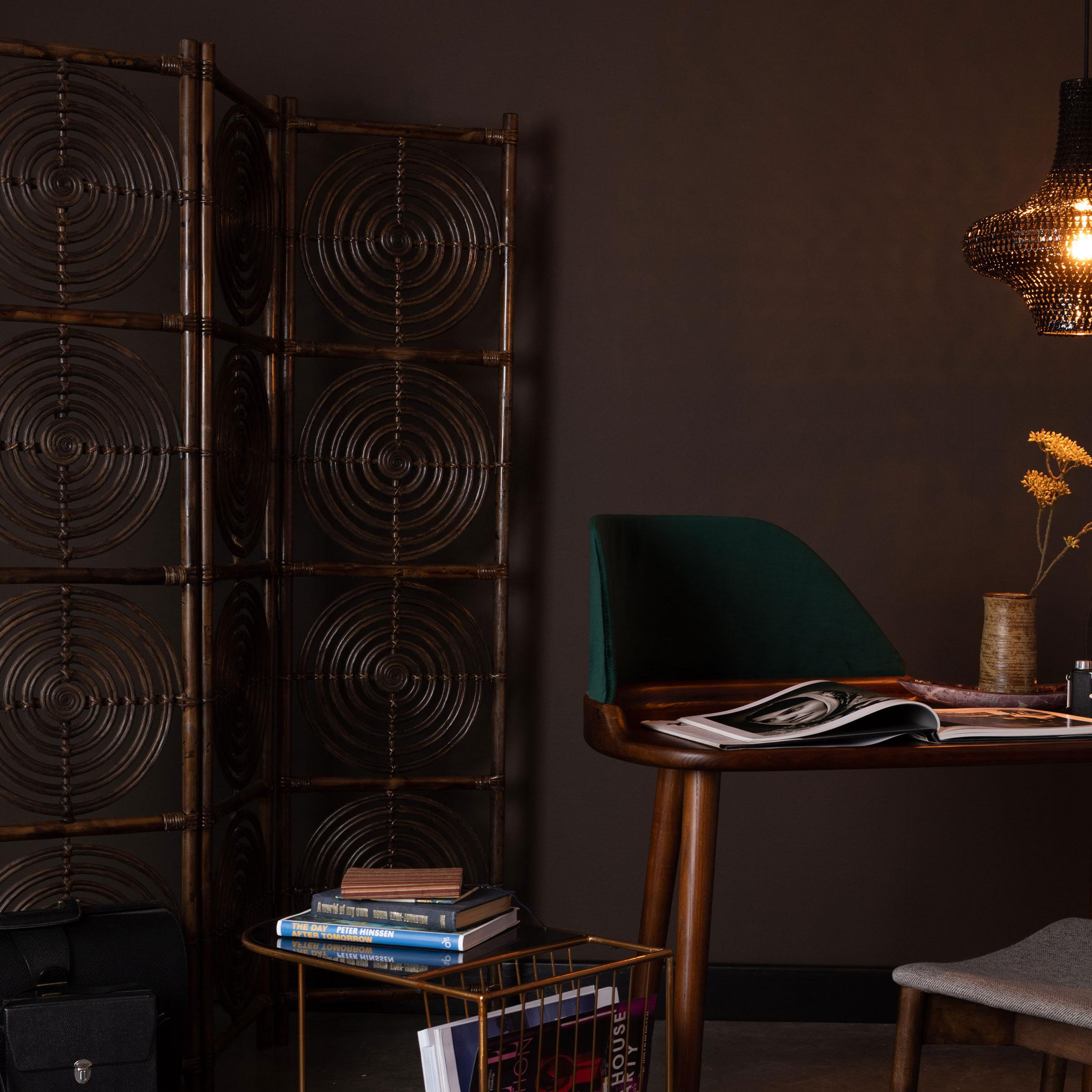 Dutchbone Roomdivider 'Rumour' kleur Bruin