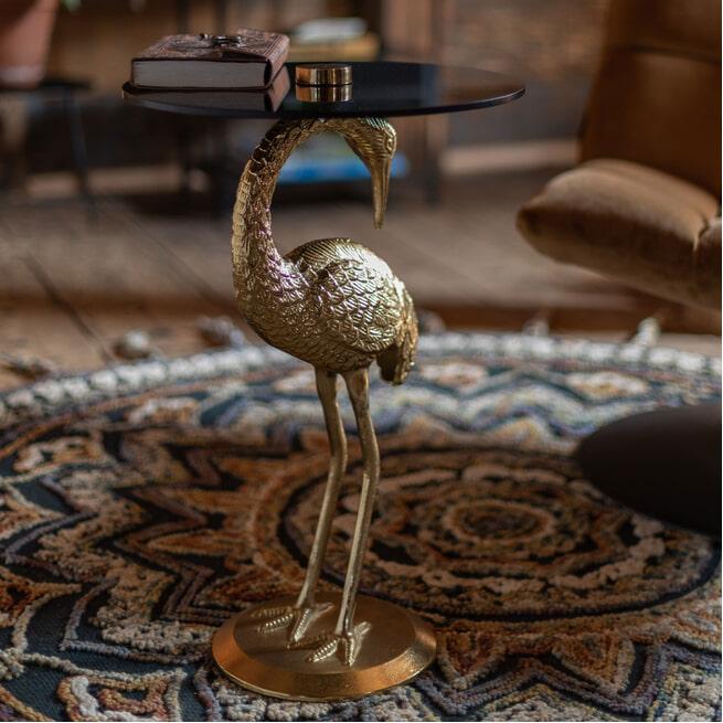 Dutchbone Bijzettafel 'Crane'