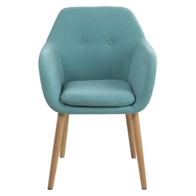 Bendt Eetkamerstoel 'Albin' kleur turquoise