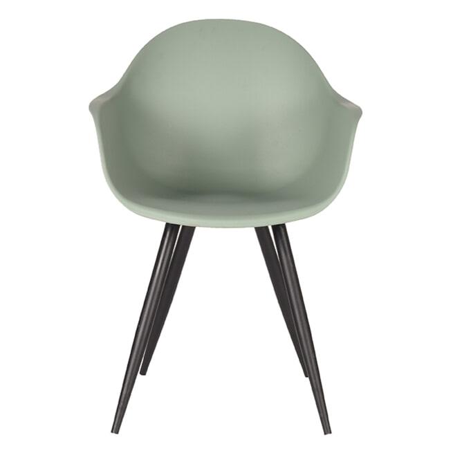 LABEL51 Eetkamerstoel 'Luca', kleur Groen