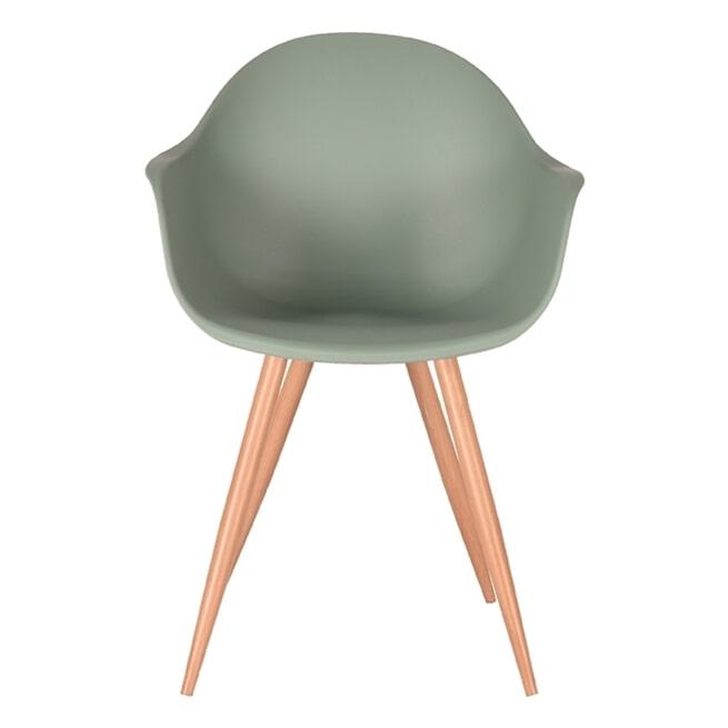 LABEL51 Eetkamerstoel 'Parma', kleur Groen
