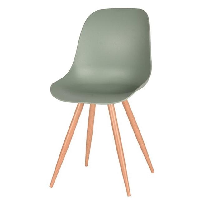 LABEL51 Eetkamerstoel 'Rimini', kleur Groen