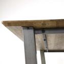 Eettafel 'Vin' 160 x 90cm, kleur eiken brownwash