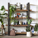 Eleonora Boekenkast 'Mango Industrieel' 160 cm