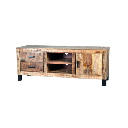 Eleonora Tv-meubel 'Iron XL Industrieel' 150 cm