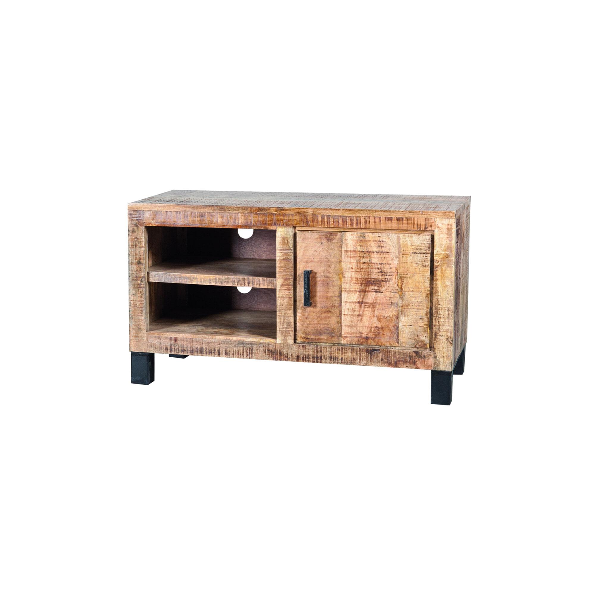 Eleonora Tv-meubel 'Iron XL Industrieel' met 1 deur