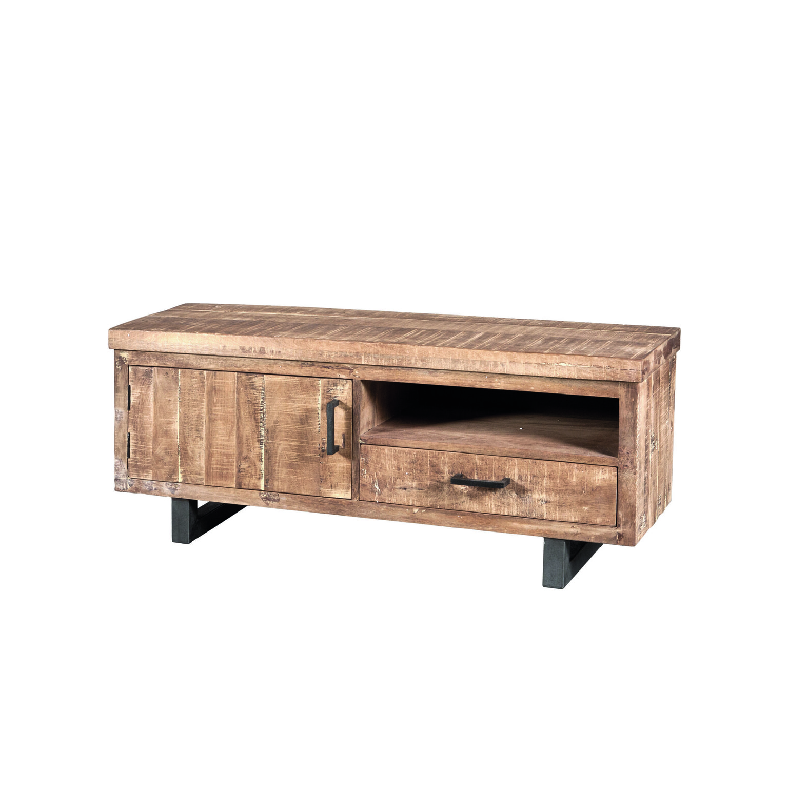 Tv Kast Salon Tafel.Eleonora Tv Meubel Mango Industrieel 123 Cm 22727 Meubelpartner