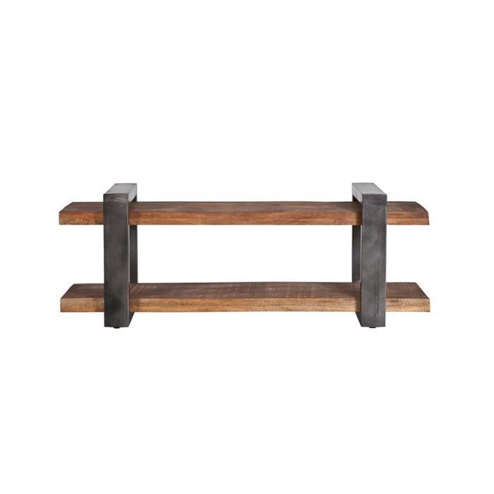 eleonora tv-meubel mango industrieel 150cm, kleur metaal - 11167